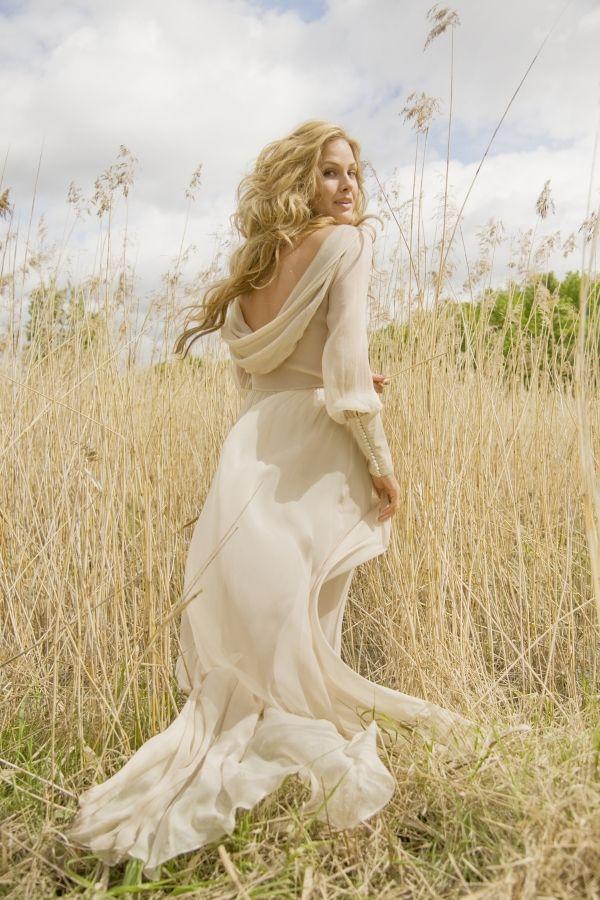 romantic wedding dress from Leila Hafzi