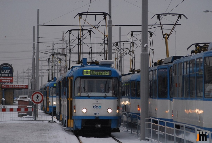 Trams in Ostrava (Czech Republic)