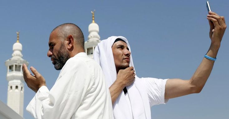 Selfies affecting Holy Kaaba
