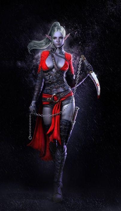 Темный эльф убийца