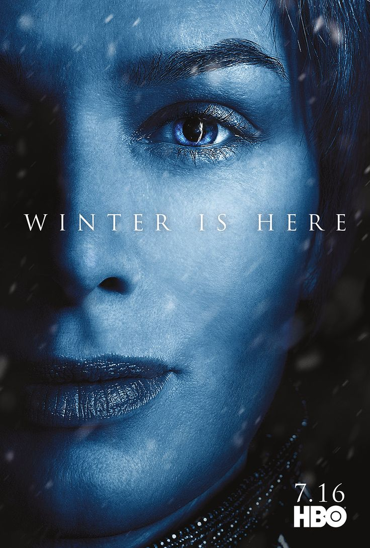 Character Posters for Game of Thrones Season 7 Revealed – Winter is Here! CERSEI
