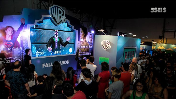 Warner Argentina Comic-Con November 2015