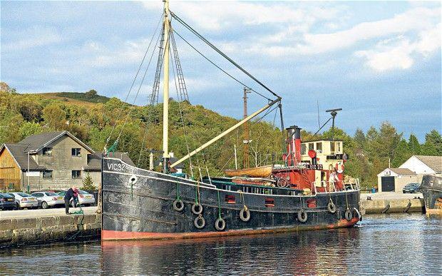 Scotland on a vintage steamship