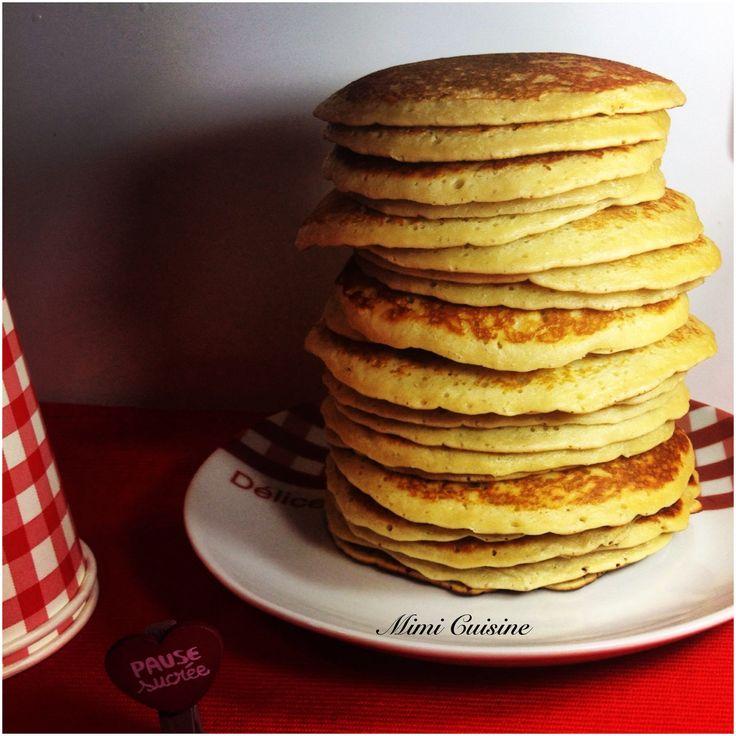 Les Pancakes de MimiCuisine au miel et à la noix de coco Recette Companion - Mimi Cuisine