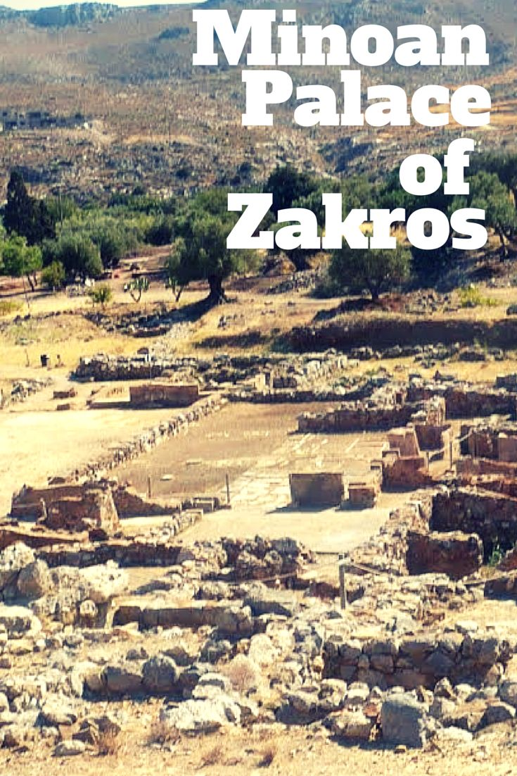 You can visit the archeological spot of the Palace of Zakros. It was build by the Minoans inCrete's eastern coast it is the latest palace found as a whole. Had artifacts considered as the most significant of the period. Zakros Palace was an administrative & religion centre, a very important commercial harbour that connected Minoan Crete to Asia and Africa. Learn more