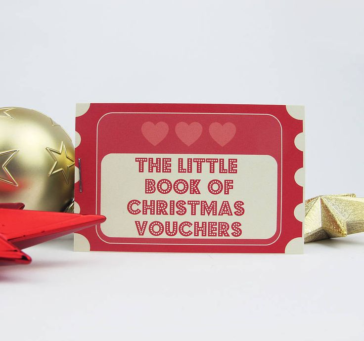 25 best ideas about Christmas vouchers – Print Your Own Voucher
