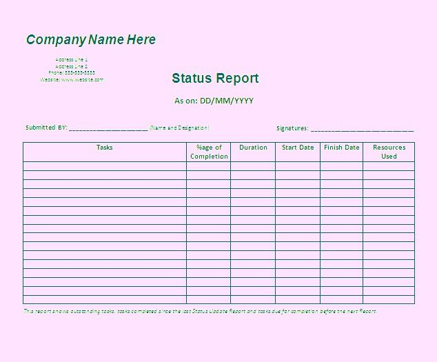 Download report templates Microsoft word