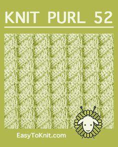 Fácil de tricotar: Knit-Purl
