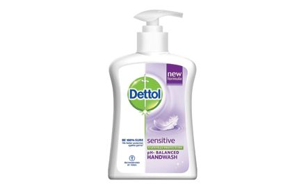 Get a Dettol Soap 75g free with Dettol handwash liquid sensitive pump 225 ml. Valid at all super markets.