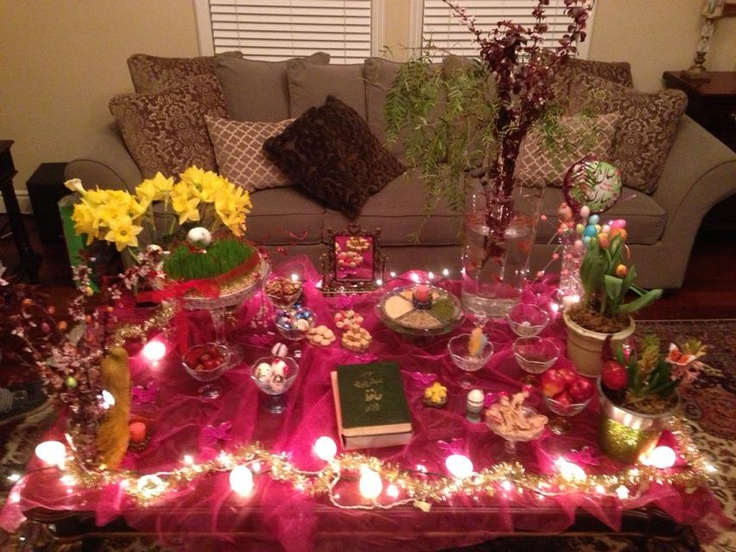 Persian New Year 1392 | Table decorations, Holidays around ...