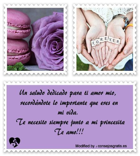 palabras originales de amor para mi pareja,textos bonitos de amor para whatsapp:  http://www.consejosgratis.es/fabulosas-frases-para-mandar-por-sms-a-mi-novia/