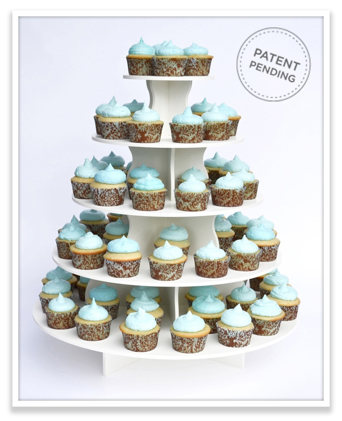 458 best wedding images on pinterest weddings wedding for Cupcake stand plans