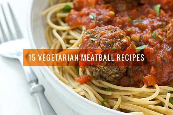 Sure, you can buy them at the store, but homemade vegetarian meatballs are so much better.