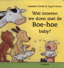 Boekenhoek: wat moeten we doen met de boe-hoe baby?