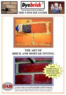 Brick stain kits - Brick stain, brick staining, brick tinting, brick tint, brick color do-it-yourself kits