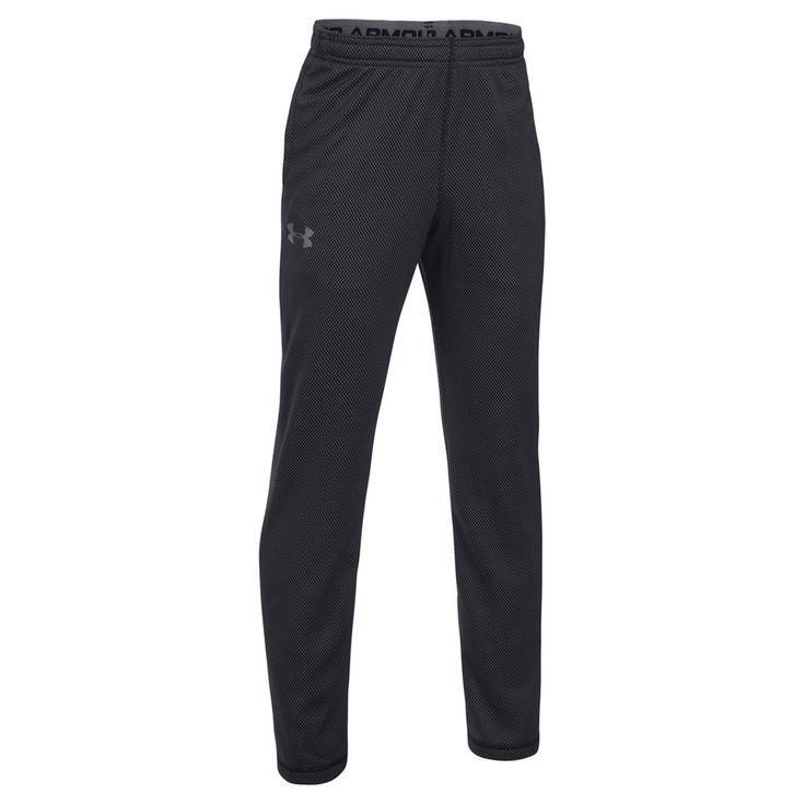 Boys 8-20 Under Armour Textured Tech Pants, Size: Medium, Oxford