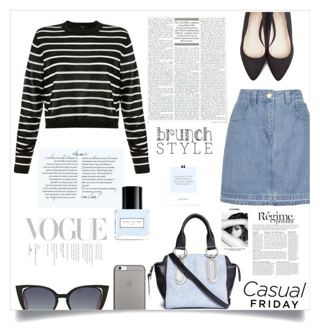 """""""Casual"""" by fantasticbabe ❤ liked on Polyvore featuring Topshop, TIBI, Beyond Skin, See by Chloé, Fendi, Anja, Chanel, Marc Jacobs and Native Union"""