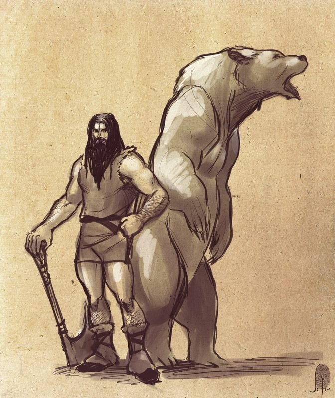 Just needed my Beorn visual fix, since Peter Jackson didn't deliver.
