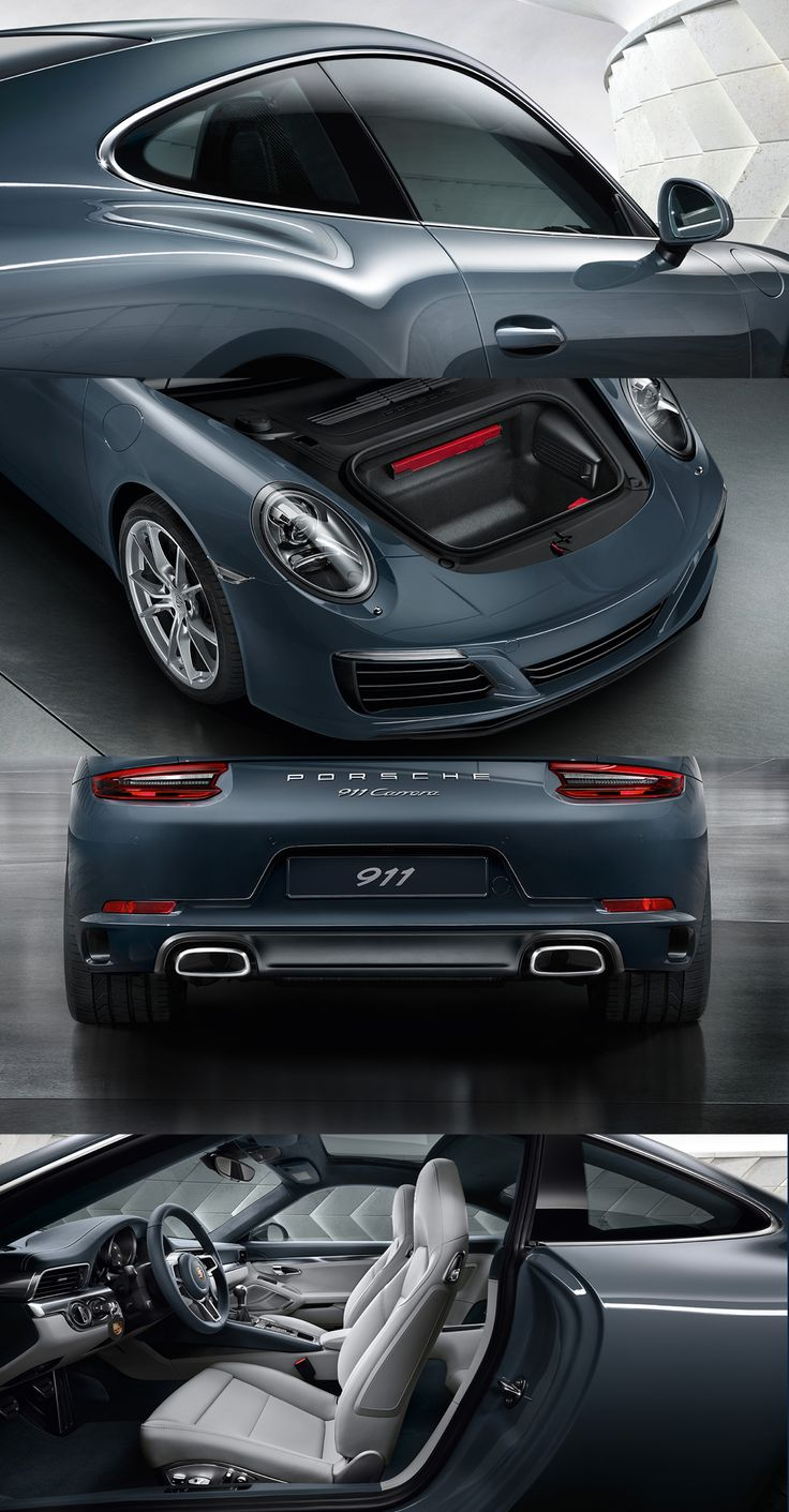 The new Porsche 911 Carrera. Six-cylinder twin-turbo boxer engine producing 272 kW (370 hp) and 450 Nm. *Fuel consumption in accordance with EU 6 911 Carrera 2 models: Combined: 8.8-7.4 l/100 km (32.1-38.2 mpg); CO2 emissions: 202-169 g/km.