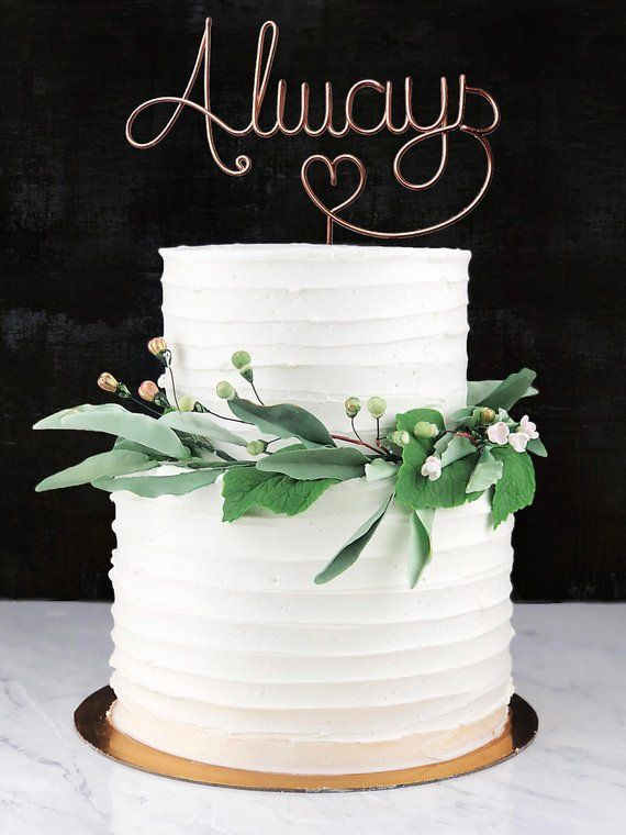 Always Infinity Forever Wedding Cake Topper Keepsake Wedding Cake Toppers