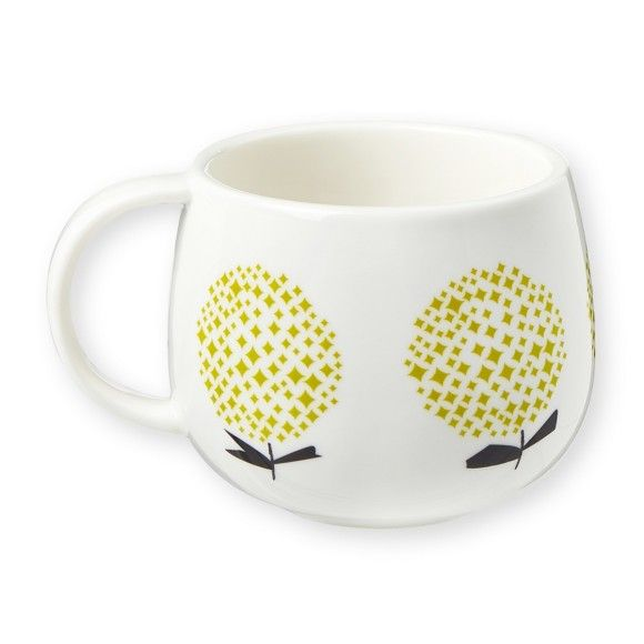 Yellow Flowers Mug This beautiful hand-painted mug by Mr & Mrs Clynk is just gorgeous to wrap your hands around and is the epitome of Scandi chic. Comes with gift box. £9.90