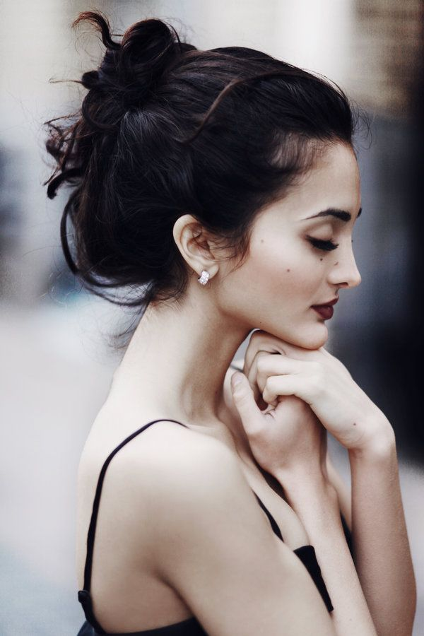 Elegant + Classic. #ponytail #hair