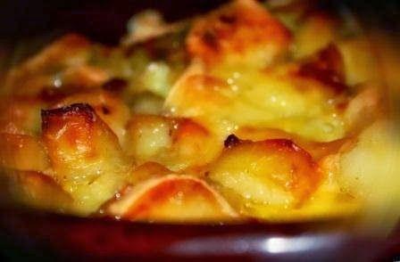 Эликсир молодости: Картофель с луком и копчёным беконом