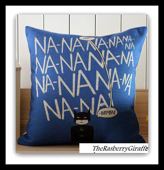 Man Cave Gifts Wholesale : Hand made batman pillow cover na