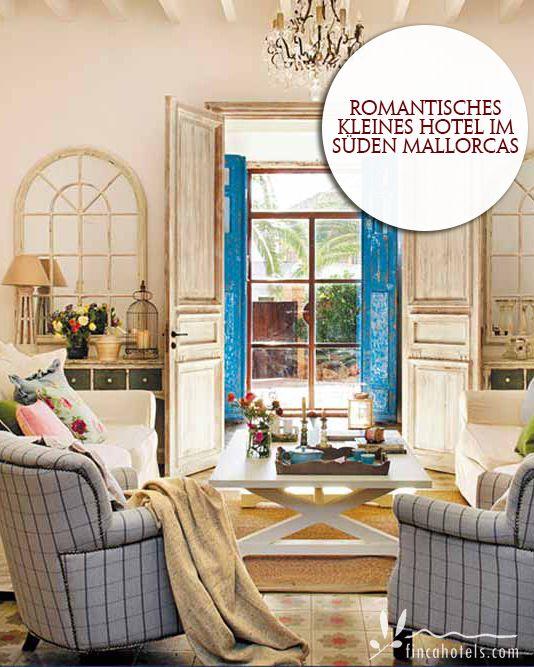 Villa Station - Mallorca: Romantic small hotel in the south of Mallorca. Romantisches kleines Hotel im Süden Mallorcas.