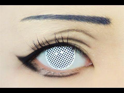 Tutorial : Anime Eye Makeup 79 • Hinata Hyuga