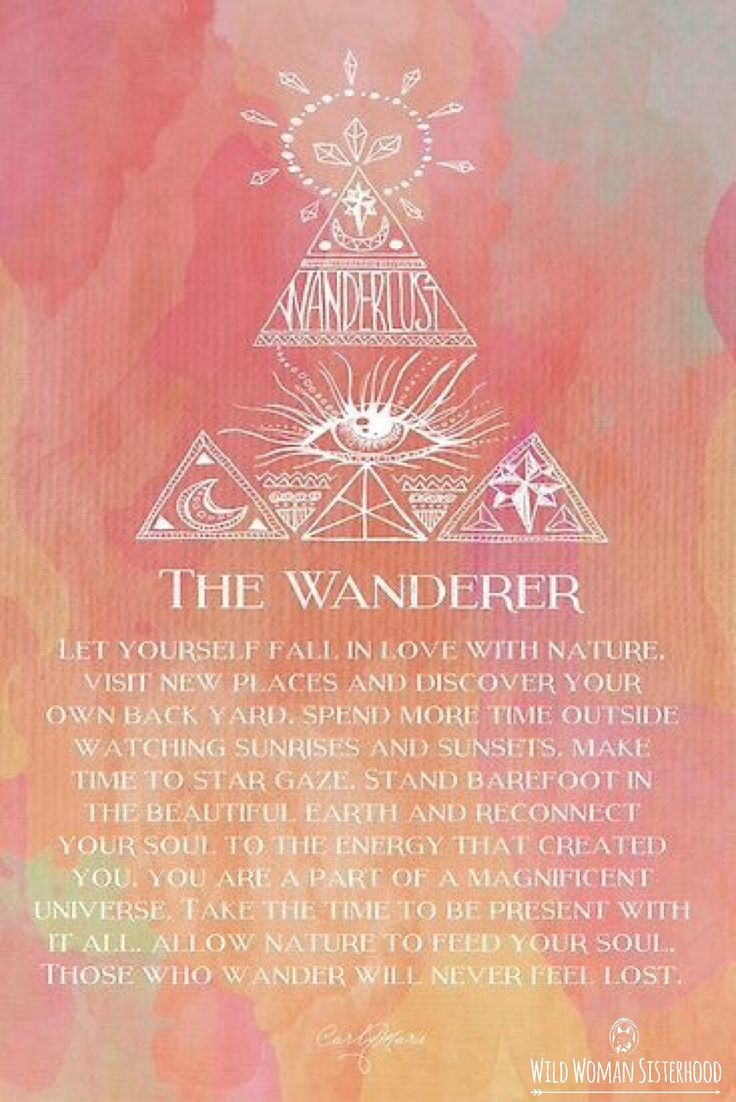 The Wanderer.. WILD WOMAN SISTERHOODॐ #WildWomanSisterhood #gypsysoul…
