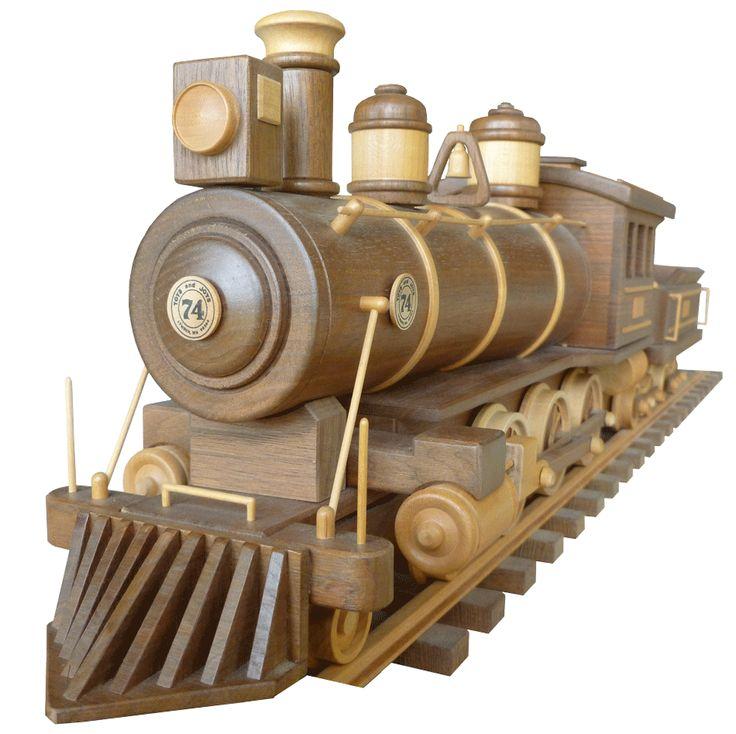 Plan Toys Train Joys : Locomotive tender coal burner kid friendly room