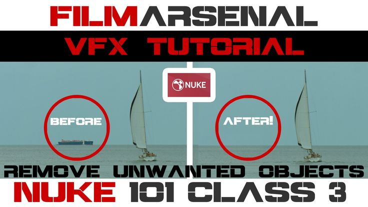 Nuke 101 Class 3 - Remove Unwanted Objects From Your Footage - Compositi...