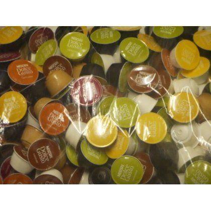 Nescafé Dolce Gusto Variety Pack 50 capsules (5 saveurs, vendus en vrac): Enjoy creamy, delicious, chocolate dip «The Walden Way,» and…