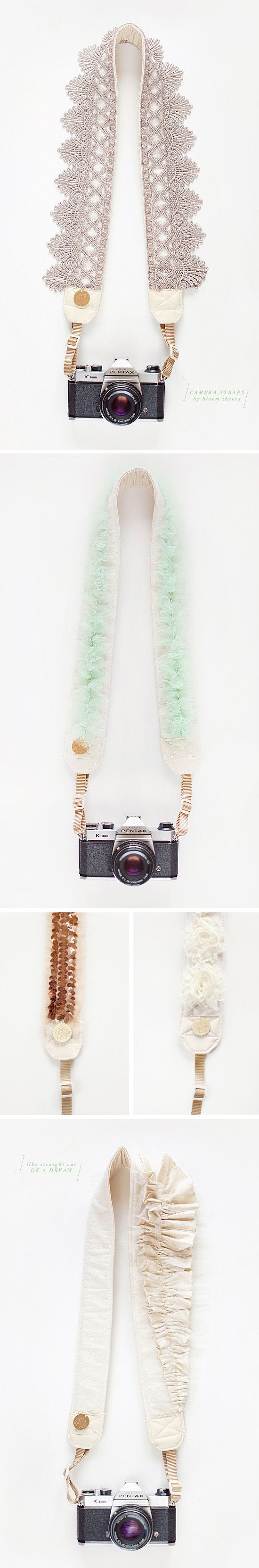 Camera straps from my dreams by the bloom theory.