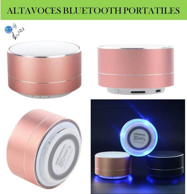 ¡Nuevos gadgets de electronica y accesorios para móviles! Altavoces bluetooth portatiles para iPhone, Samsung, Nokia, Sony, LG, HTC...