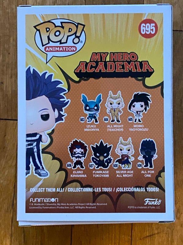 Funko Pop My Hero Academia Shinso Funko Pop Anime Funko Pop Disney Predator Funko Pop