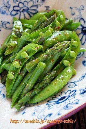 最近、頻繁に食卓にあがるのが「スナップエンドウとアスパラの土佐酢マリネ」何度食べても食べ飽きない週一は食べている常備菜しかも作り方は超簡単ポイントはただ1つ野…