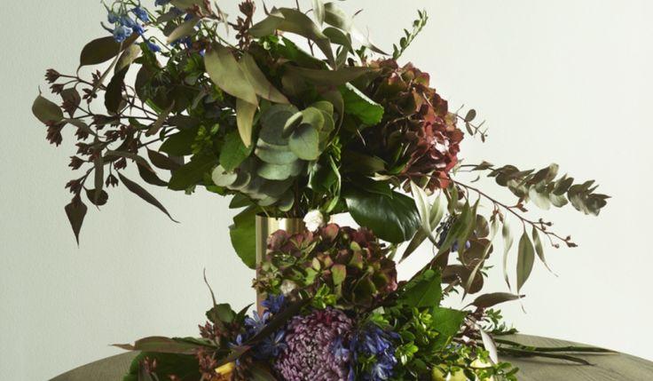 Hortensia løs blomsterbuket