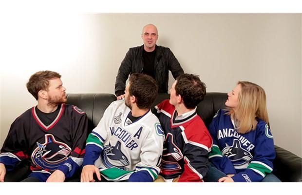 Video: Pass it to Bulis - Mark Messier commercial not sitting well with #Canucks fans in #Vancouver