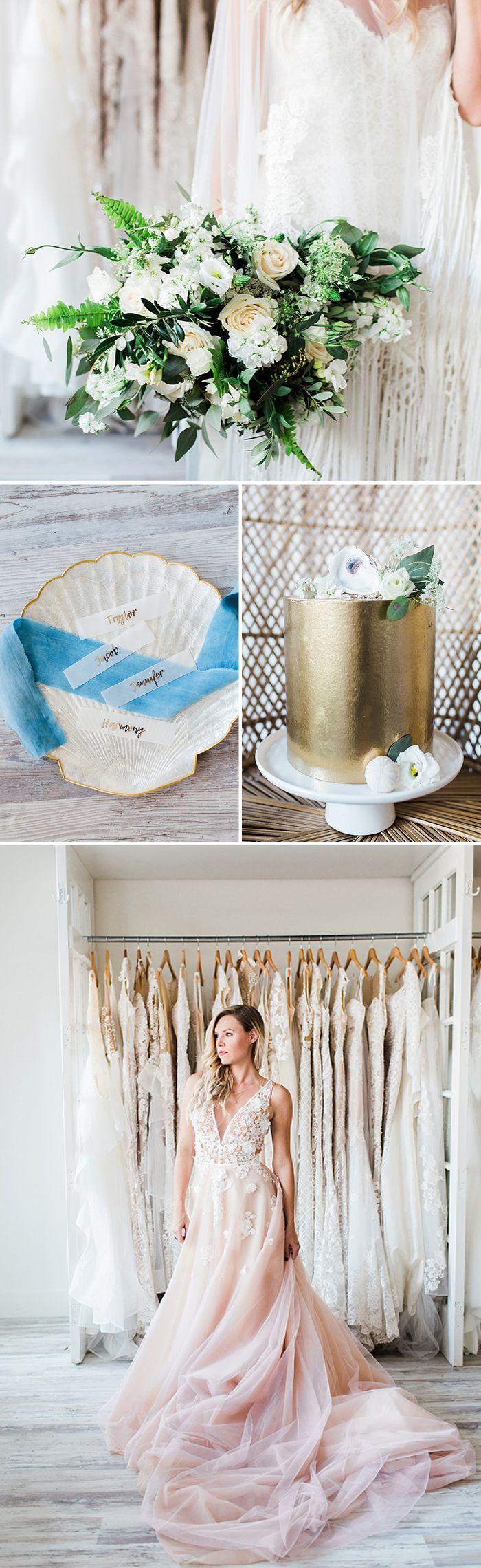 Boho Bride Inspiration with Coastal Style https://heyweddinglady.com/boho-bride-inspiration-coastal-style/