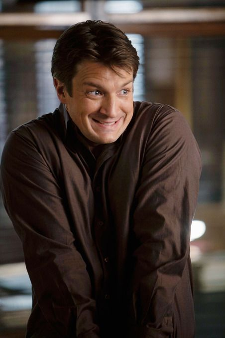 Rick Castle (Nathan Fillion) - My kind of man--smart, funny, adorable and super nerdy!!!!!