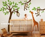 It's urMonkeys, Kids Wall, Kids Room, Wall Decals, Baby Boys, Baby Room, Jungles Nurseries, Wall Stickers, Boys Room