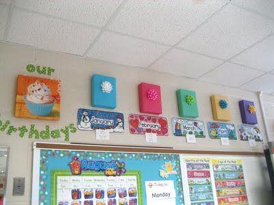 Classroom birthdays: Classroom Decor, Bulletin Boards, Avenue South, Class Idea, Glue Sticks, Classroom Ideas, Classroom Organization, Birthday Ideas