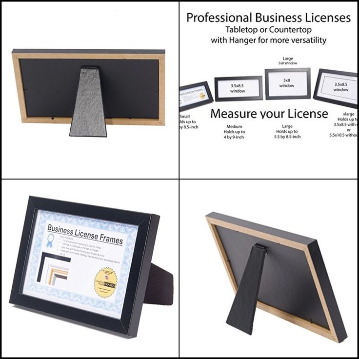 QUALITY Self Standing Easel Back with Hanger Certificate Frames for Professional #CreativePictureFrames