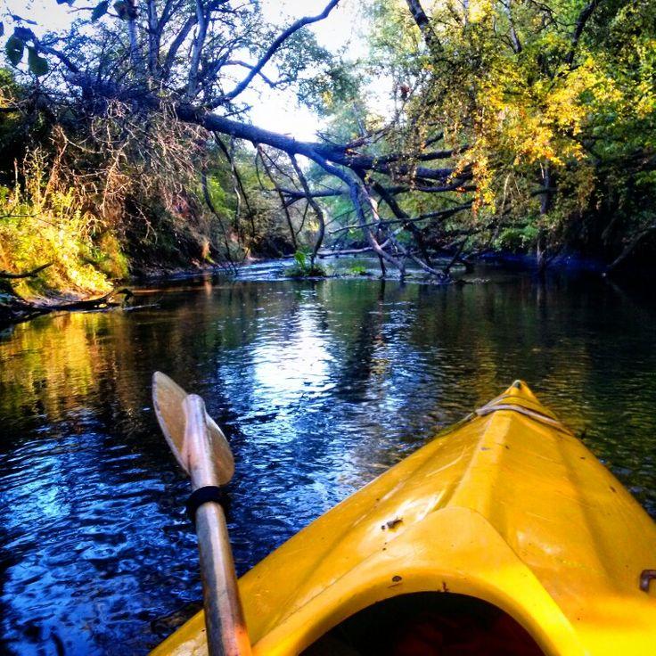 Canoe trip on the Polish rivers.