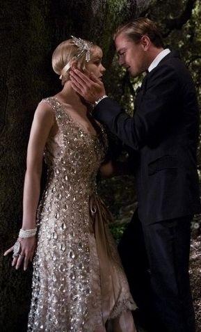 """A silhueta dos anos 20 do figurino de """"O Grande Gatsby"""" inspiram noivas"""