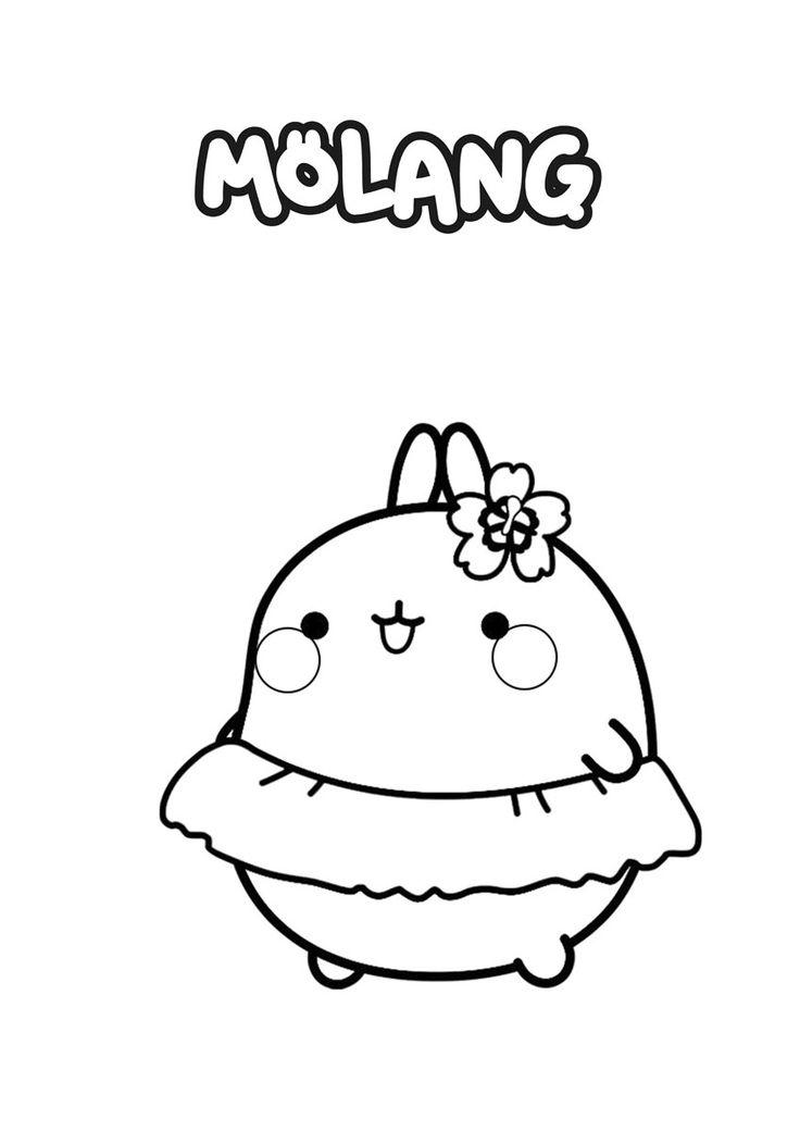 Mejores 116 imágenes de Molang en Pinterest   Anime kawaii ...
