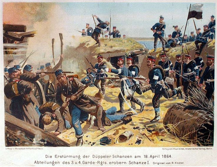 Battle of Dybbol, Schleswig War