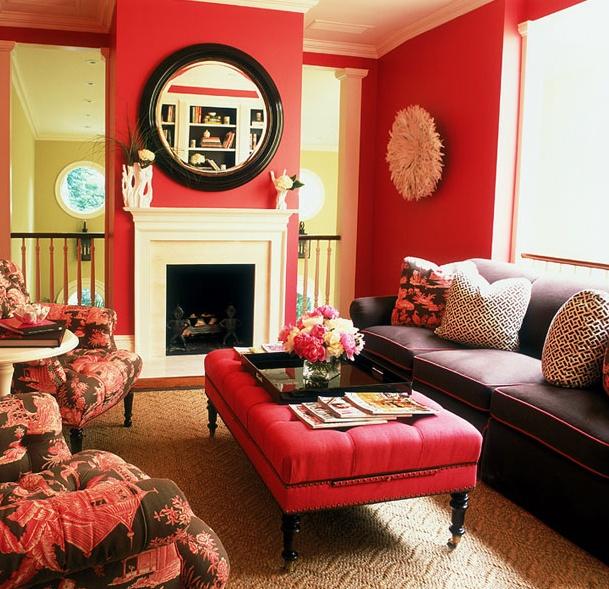 .: Decor, Ideas, Interior, Living Rooms, Color, Livingroom, Dream House, Pink Room, Design